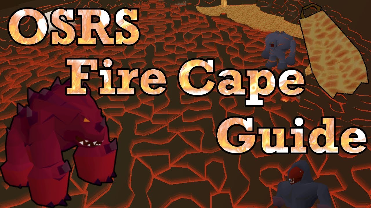 OSRS How I Fight Jad | Old School Runescape Fire Cape Guide