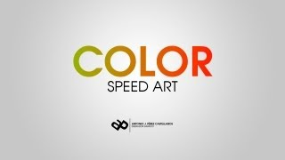 Speed Color | Model Wallpaper
