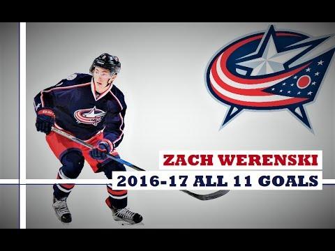 Zach Werenski (#8) ● ALL 11 Goals 2016-17 Season (HD)