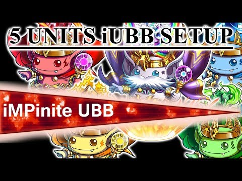 Brave Frontier - 5 Units iUBB Setup