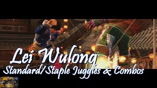 Tekken Tag 2: Lei Wulong Staple Standard Juggles/Combos (Fillers, Wall Carry, and Wall Combos)
