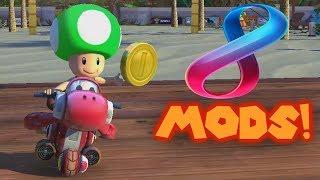 Mario Kart 8 Deluxe Texture & Music Hacks! (Read Description)