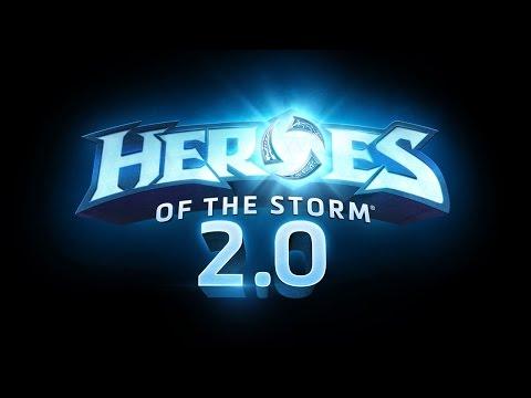 видео: heroes of the storm 2.0. Что нам показали в Париже?