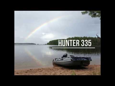 Мини обзор лодки Хантер 335 - 100 часов эксплуатации