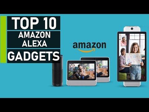 Top 10 Latest Amazon Alexa Compatible Gadgets