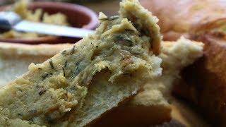 Чесночная паста по французски   Запеченный чеснок с розмарином   How to Roast Garlic  Pâte d'ail
