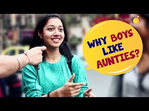 Aunties with boys