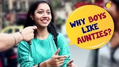 Why Do Boys Like Aunties? | Kolkata Girls Comedy | Wassup India