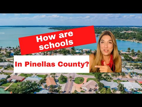How are schools in St. Petersburg and Pinellas County?