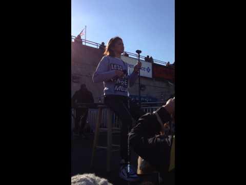 Zendaya Singing This Christmas -Philadelphia