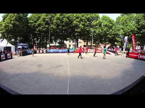 European street soccer 4vs4 Championship 2014: Italy  Poland