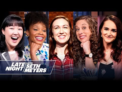 The Women of Late Night with Seth Meyers