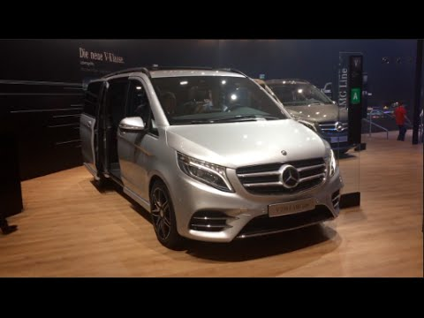 mercedes benz v 250 d amg line 2016 in detail review. Black Bedroom Furniture Sets. Home Design Ideas