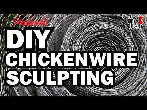 DIY Chicken Wire Fox, MAN VS. PIN #6