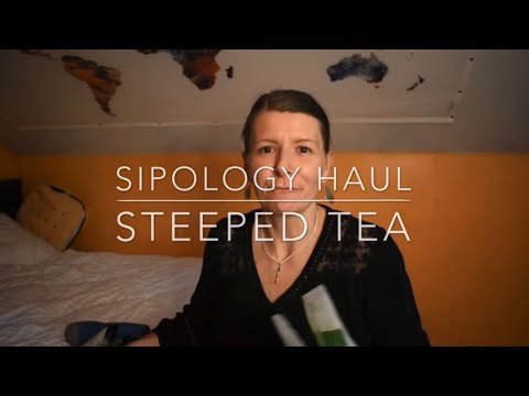 SIPOLOGY steeped tea
