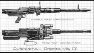 Top Ten Heavy/Medium Machine Guns in The World