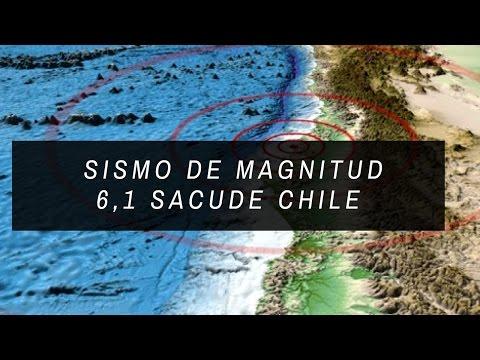 Un fuerte sismo de magnitud 6,1 sacude Chile Seguido de un enjambre sísmico