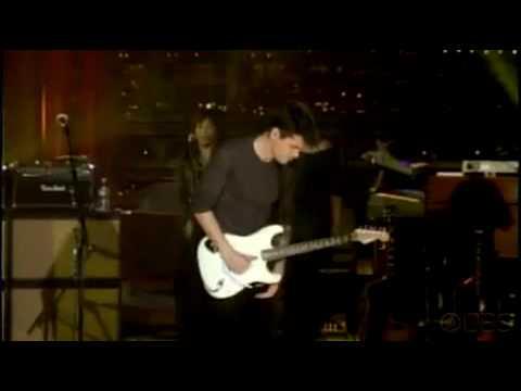 John Mayer  Crossroads  at Letterman