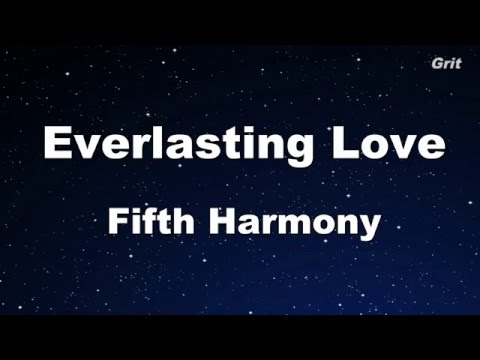 Everlasting Love - Fifth Harmony Karaoke 【No Guide Melody】Instrumental