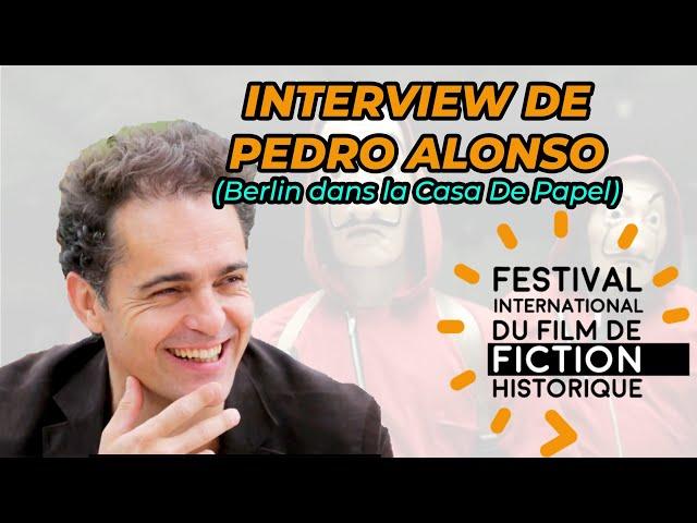Interview de Pedro Alonso  (Berlin, La Casa De Papel Netflix) (sous titres français)