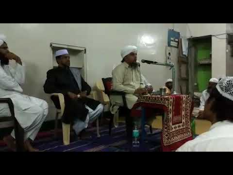 Hz Syed Arshad Ishaqi Mehdavi (All India Paigam E Rahmate Do Alam SAWS TOUR ka Doosra Jalsa)