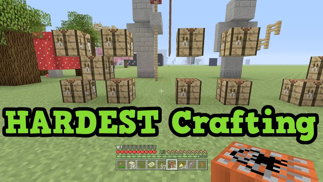 how to make a crafting table in minecraft xbox 360