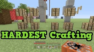 Minecraft Xbox  PC - 5 Hardest Crafting Recipes To Remember