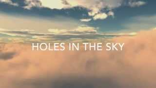 M83 feat. HAIM - Holes in the Sky (Lyrics Video)