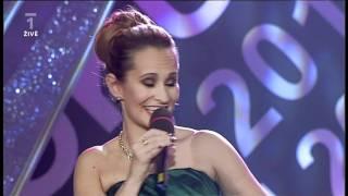 Aleš Háma a Monika Absolonová - závěrečná píseň - Atlet roku 2011