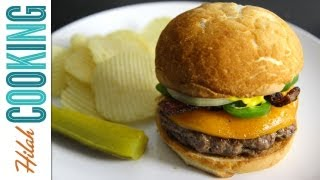 Jalapeño Bacon Cheeseburger