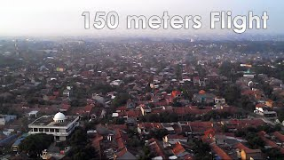 Syma X5C: Flying Above 150 Meters and Crash
