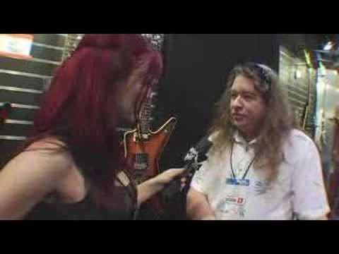 Buddy Blaze At Dean Guitars NAMM 2008 Part 2