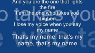 Akcent Thats my name + Lyrics