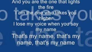 Akcent Thats my name + Lyrics