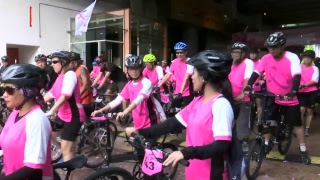Hundreds participate in Wacoal, NST's Pink Ribbon Fun Ride