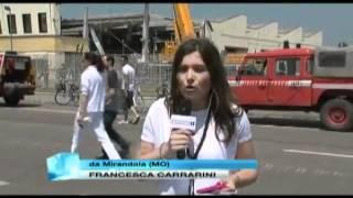 Terremoto in Diretta Tv a Modena