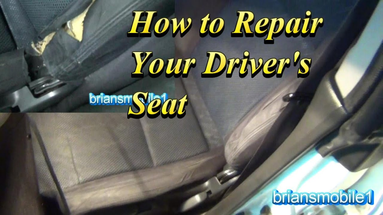 Ford Tahoe Diagram How To Repair Your Drivers Seat Youtube