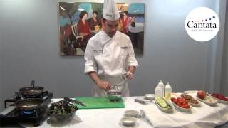 Chef Jeff - Episode 01 - Candied Nectarine & Walnut Salad