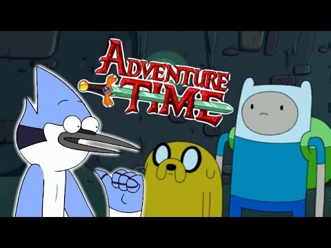 Mordecai Appeared in Adventure Time
