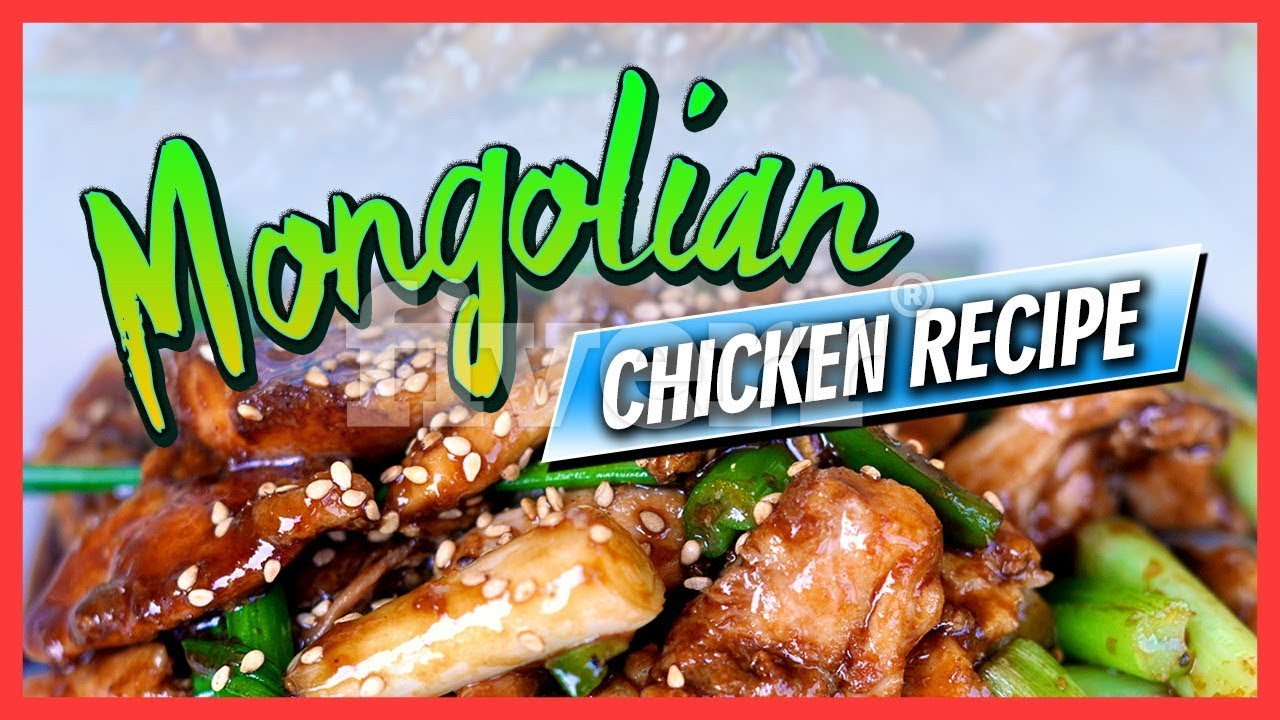 Mongolian chicken recipe youtube forumfinder Choice Image