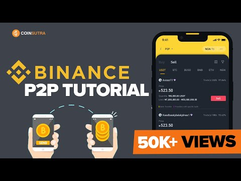 Binance P2P Tutorial ✅  - How to Sell Crypto Using P2P method 🌍