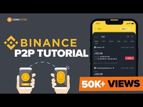 Binance P2P Tutorial ✅  - How To Sell Crypto Using P2P Method ????