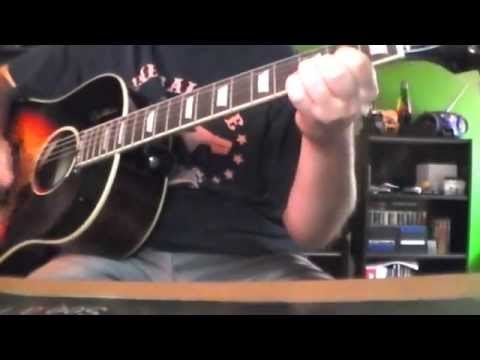 Traveling Wilburys End Of The Lineguitar Cover Youtube