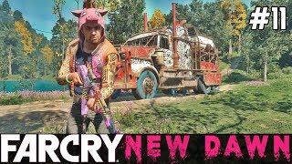 FAR CRY New Dawn Gameplay PL [#11] Nowa CIĘŻARÓWKA z Działem /z Skie