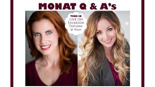 Monat Q & A's with Meredith & Gina