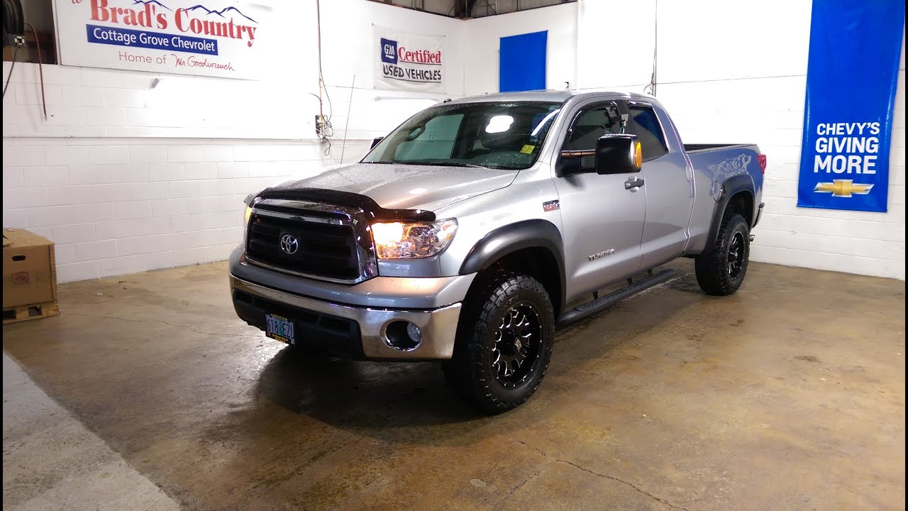2011 toyota tundra grade 4x4 double cab short bed 5 7l iforce v8 stock 2179b youtube. Black Bedroom Furniture Sets. Home Design Ideas