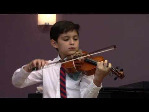 Bach Prelude Viola Performance