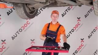 Hvordan skifte Bremsesko sett på BMW 5 (E60) - videoguide