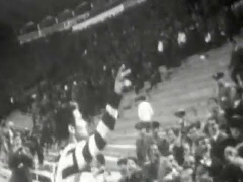 Entrega das faixas de campeão ao Sporting em 1965/1966