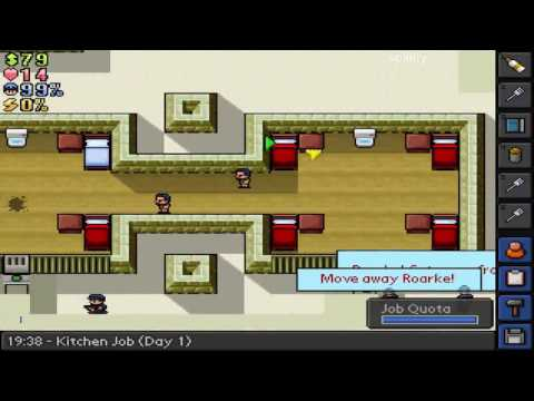 The Escapists - Escape from Desert Compound Pt. 1: Day 1 Solitary